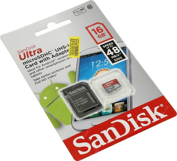 Cartão De Memória Micro Sd 32gb Classe 10 Ultra Temos Loja F