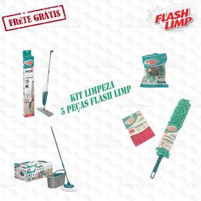 Combo Limpeza Flash Limp 5 Peças Frete Grátis