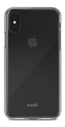Funda iPhone X Moshi Vitros Transparente