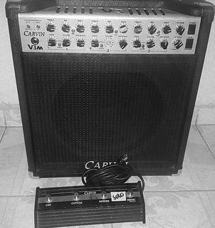 Amplificador De Bulbos Carvin Made In Usa 3 Canales 50w