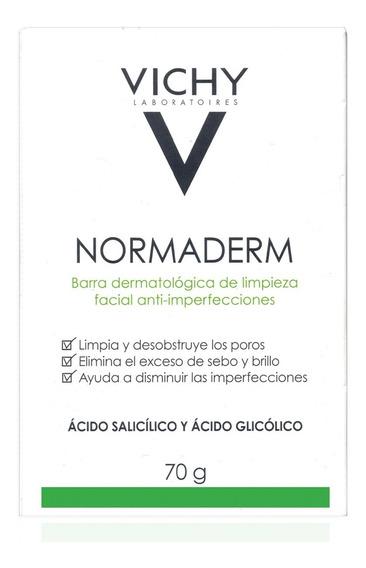 Barra Limpiadora Facial Vichy Normaderm 70g