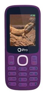 Celular Ipro I3200 Roxo Dual Rádio Fmbluetooth 2.0 Vitrine