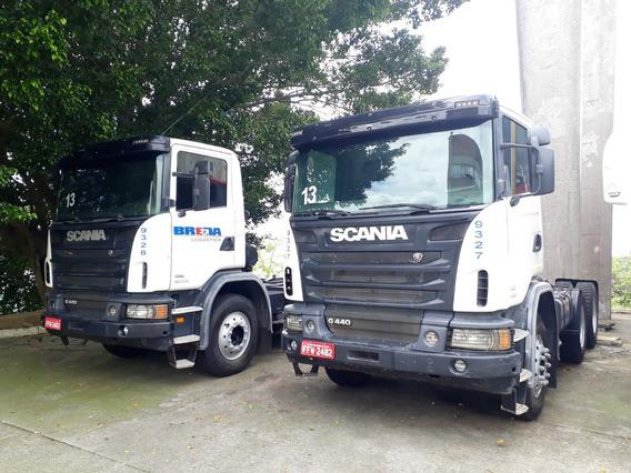 Promoção! Scania G440 C/ A/c Opticruise - Traçado 6x4 Euro 5