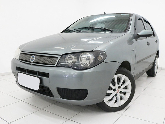 Fiat Palio Elx 1.3 Cinza 2004