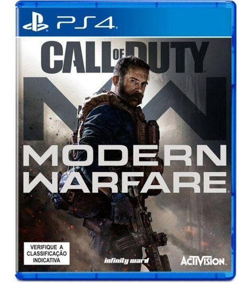 Call Of Duty Modern Warfare - Ps4 - Mídia Digital