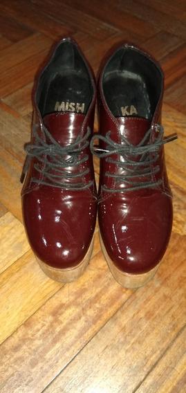 Zapatos De Dama Marca Mishka Como Nuevos!!!!
