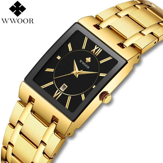 Relógio Unissex Aço Inoxidável Original Com Caixa