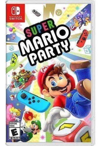 Super Mario Party Switch Mídia Física Novo Lacrado