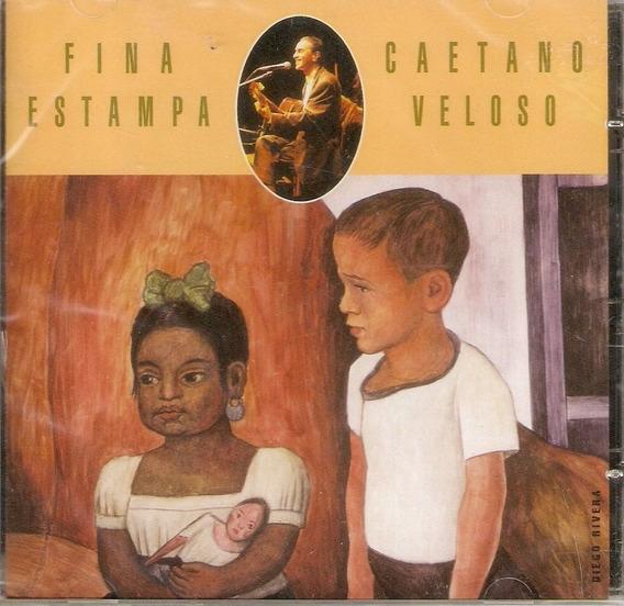 Cd Caetano Veloso - Fina Estampa - Ao Vivo - Novo***