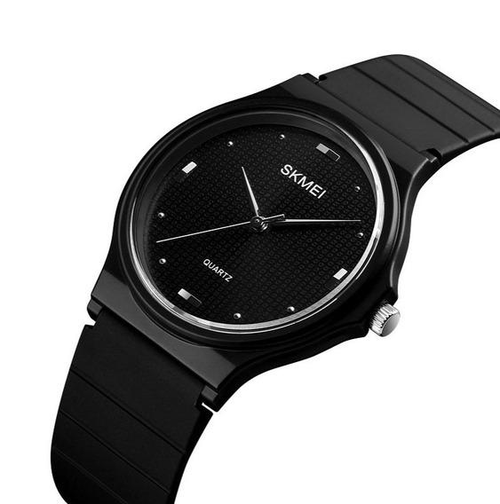Elegante Reloj Unisex Diseño Único Skmei Sumergible Sport