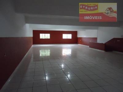 Salão Para Alugar, 250 M² Por R$ 2.505/mês - Jardim Santo André - São Paulo/sp - Sl0056