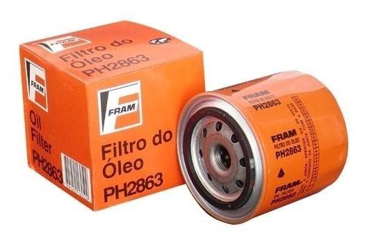 Filtro De Óleo Uno Tempra Fiorino Tipo Premio Fram Ph2863