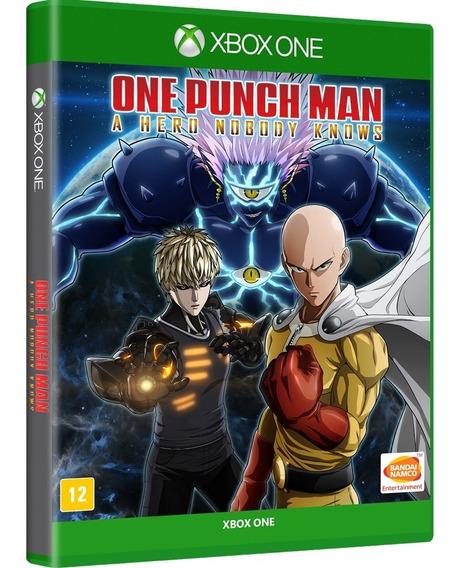 One Punch Man: A Hero Nobody Knows Xb1 - Mídia Física