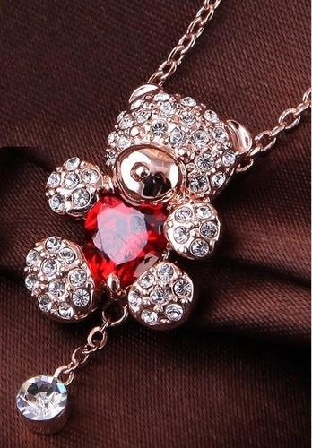 Hermoso Collar Swarovski Crystals Variedad Modelos