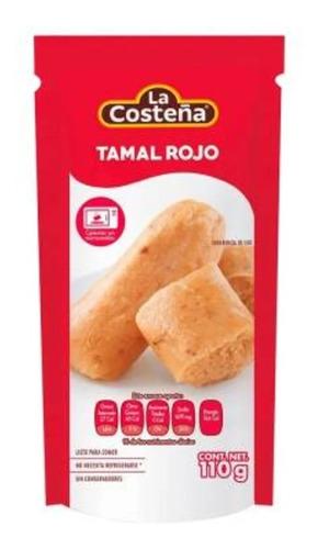 Tamal Rojo La Costeña 110 G 2 Piezas