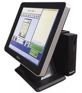 Monitor Touch Screen Sweda Smt-200 + Cpu Sweda Sp-30