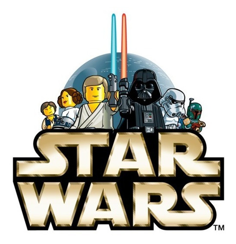 Star Wars Lego Kit Imprimible Para Tu Fiesta