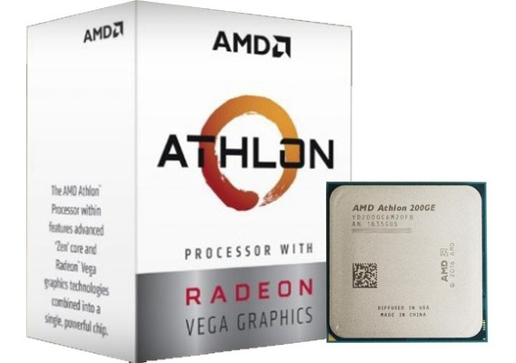 Processador Amd Athlon 200ge 5mb 3.2ghz Am4 Yd200gc6fbbox