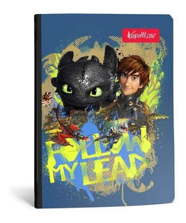 Cuaderno Keepermate Entrenar Tu Dragon Cuadros 100 H X 2 Uds