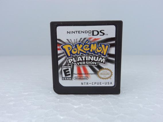 Pokemon Platinun - Nintendo Ds/3ds - Só A Fitinha