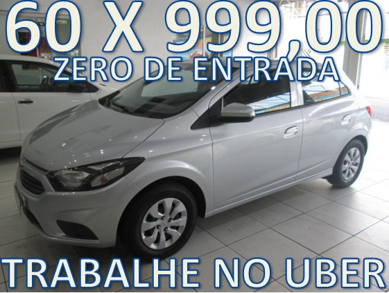 Chevrolet Onix Lt Completo Zero De Entrada+60 X 999,00 Fixas