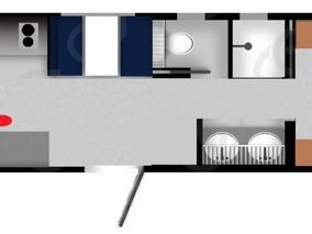 Remolque , Caseta , Camper , Oficina Movil Para 9 Personas