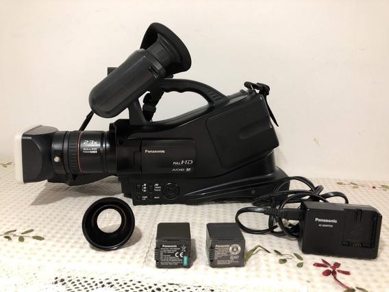 Filmadora Panasonic Ag Ac7 Com 2 Baterias