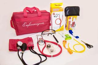 Kit Para Enfermagem Com Aparelho De Pressão Diversas Cores