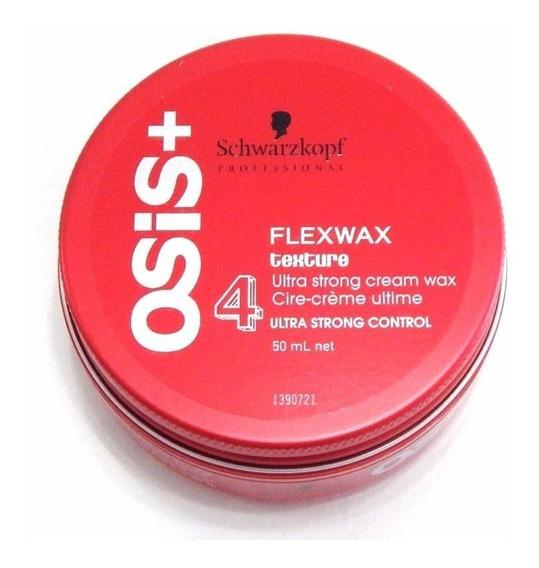 Cera Schwarzkopf Osis+ Flexwax Texture Fijación Ultra Fuerte