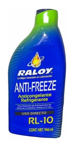 Anticongelante/refrigerante Raloy Rl-10 Uso Directo