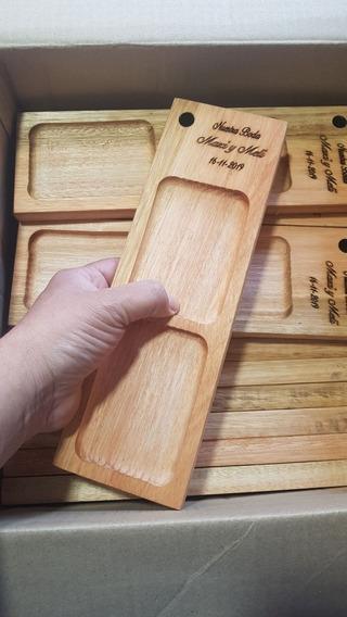 Tablas Picadas Madera K Ideal Souvenir Con Grabado Incluido