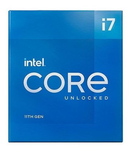 Imagen 1 de 10 de Procesador Intel Core I7-11700kf 11va S1200 Bx8070811700kf