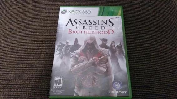 Xbox 360 Assassins Creed Brotherhood Usado/mídia Física