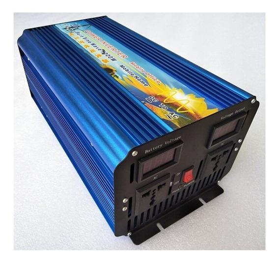 Inversor Para Panel Solar 3000w Dc 48v A Ac 110v Onda Pura