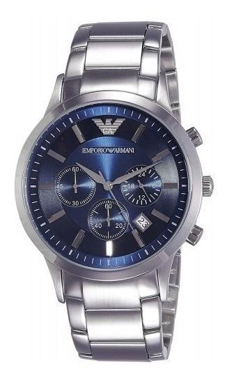 Relógio Masculino Emporio Armani Classic Ar-2434 *usado*