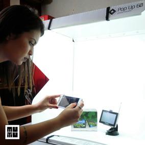 Pop Up 60cm Mini Estúdio Fotográfico Portátil 8500 Lumens: