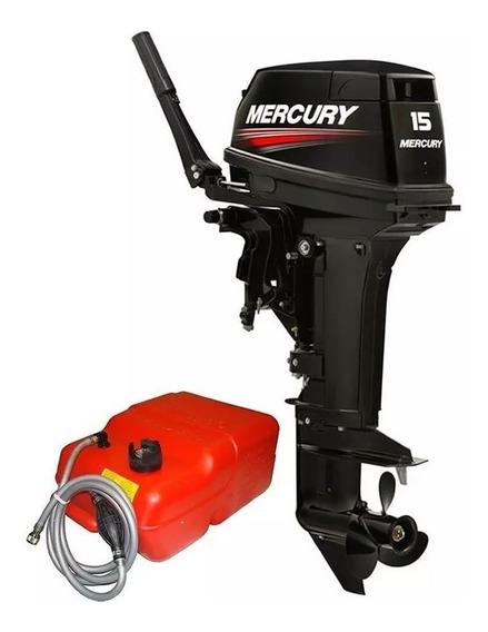 Motor Popa Mercury 15 Super 2t Preço P/ Produtor Rural Ou Pj