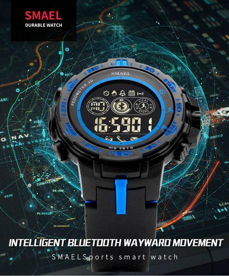 Smael Bluetooth Esporte Inteligente Mens Relógio Estilo Reló