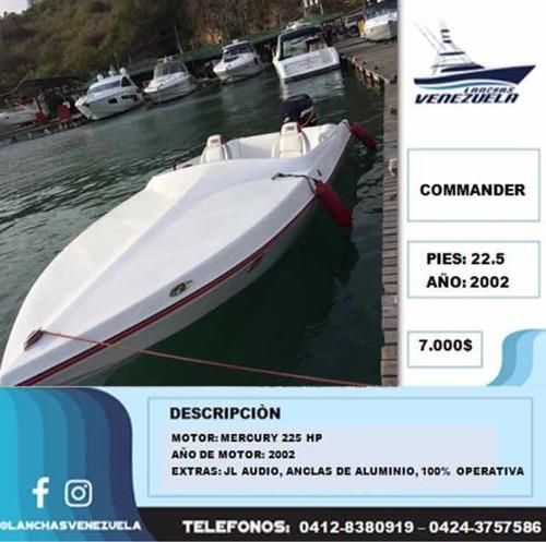 Lancha Commander Lv271