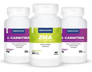 Kit 2 L-carnitina + Zma Newnutrition