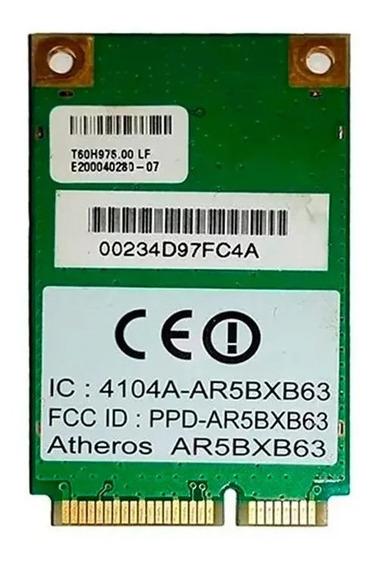 Placa Wifi Mini Pci-e Atheros Ar5bxb63