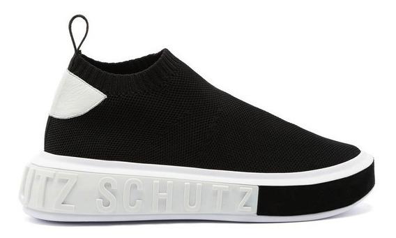 Tênis Schutz [back In Store] Sneaker It Schutz Bold Knit Bla