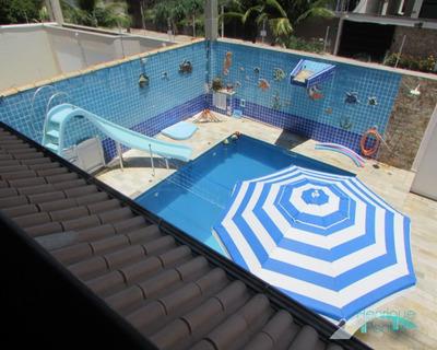 Piscina - Sobrado Lado Praia, Alto Padrão, 4 Dormitórios, Para Venda E Temporada, Casablanca/peruíbe - Ca00416 - 33674466