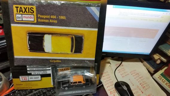 Taxis Del Mundo Num 1 Peugeot 404 Buenos Aires