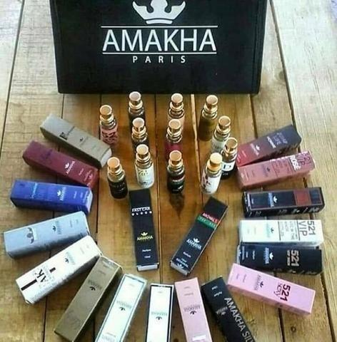 Compre 10 Perfumes Da Amakha Paris E Ganhe 2 De Brindes