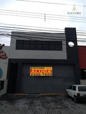 Salão Comercial Para Locação, Jardim Bom Clima, Guarulhos. - Sl0667