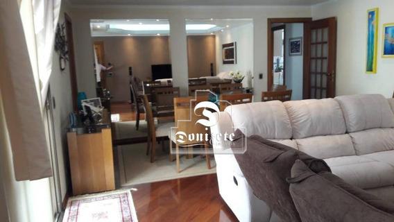 Apartamento Com 3 Dormitórios À Venda, 140 M² Por R$ 689.000,00 - Vila Assunção - Santo André/sp - Ap13368