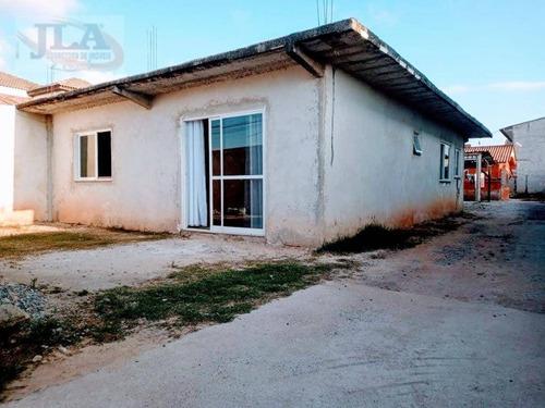 Casa Com 3 Dormitórios À Venda, 88 M² Por R$ 400.000,00 - Guaraituba - Colombo/pr - Ca0267