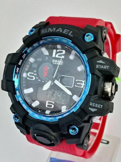 Relógio De Pulso Masculino Smael Digital Barato Promoção!
