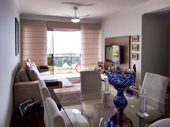 Apartamento Com 3 Dormitórios À Venda, 109 M² Por R$ 510.000,00 - Vila Leão - Sorocaba/sp - Ap0637